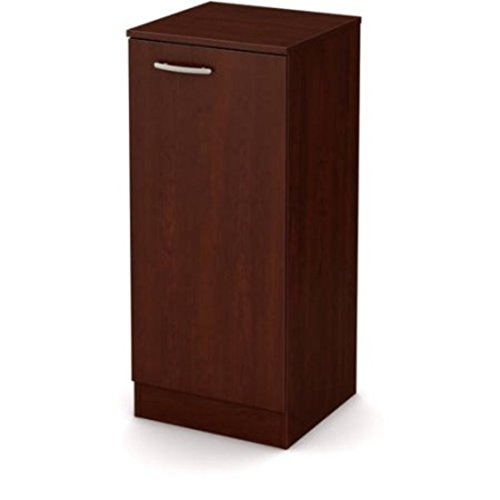Narrow Spaces Maximizer Adjustable Shelf Storage Cabinet Pantry, Cherry by S0UTH Shore