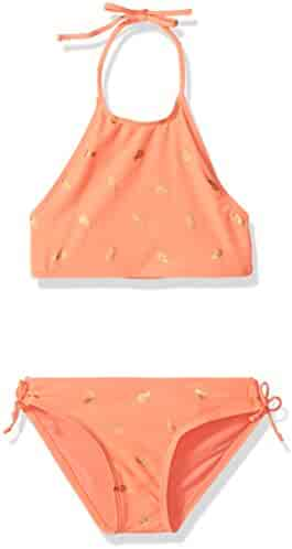 The Children's Place Girls' Halter Bikini Swimsuit