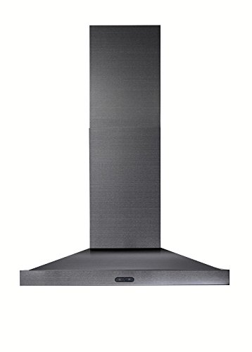 Broan EW5430BLS Elite Range Hood, 30'', Black Stainless by Broan (Image #1)