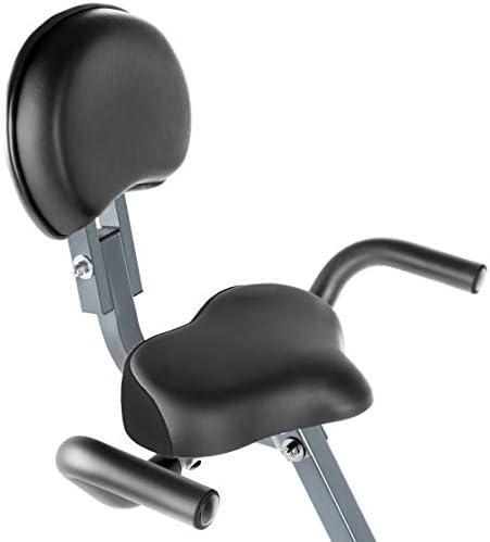 FITFIU Fitness BEST-220 Bicicleta Estática Plegable con Respaldo ...