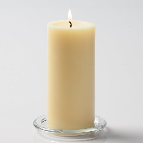 Richland® 3''x 6'' Pillar Candles Ivory Unscented Set of 24 by Richland