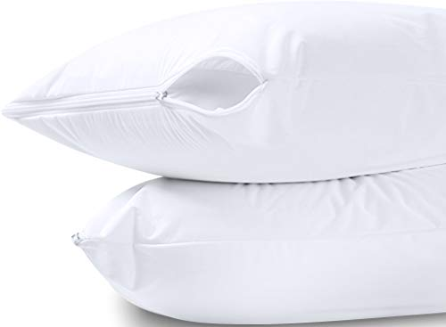 Utopia Bedding Waterproof Zippered Pillow Encasement