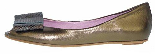 Bisue 2026 Ballerinas Leder bronze Bronze