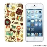 OnlineBestDigital - Cartoon Pattern Hard Back Case for Apple iPhone 5S / Apple iPhone 5 - Retro Icons