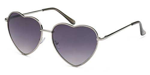 Metal Heart Shaped Frame Retro Women's Fashion - Sunglasses Buy Heart Shaped