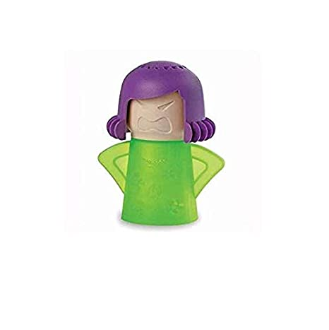 SUNXIN Limpiador de microondas Mama Enfadada Limpiador a Vapor