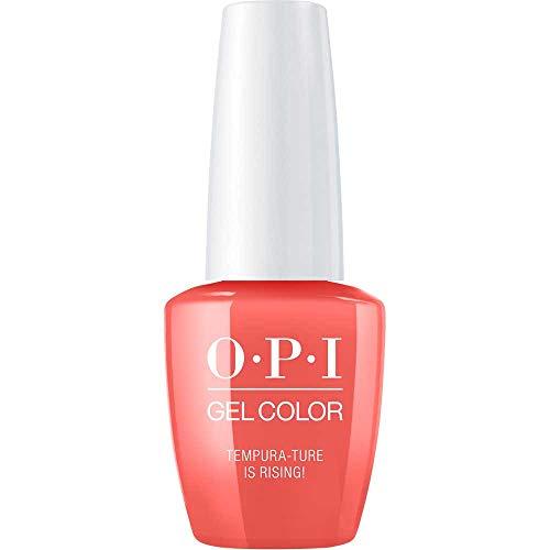 OPI GelColor, Tempura-ture is Rising, 0.5 Fl. Oz. gel nail polish