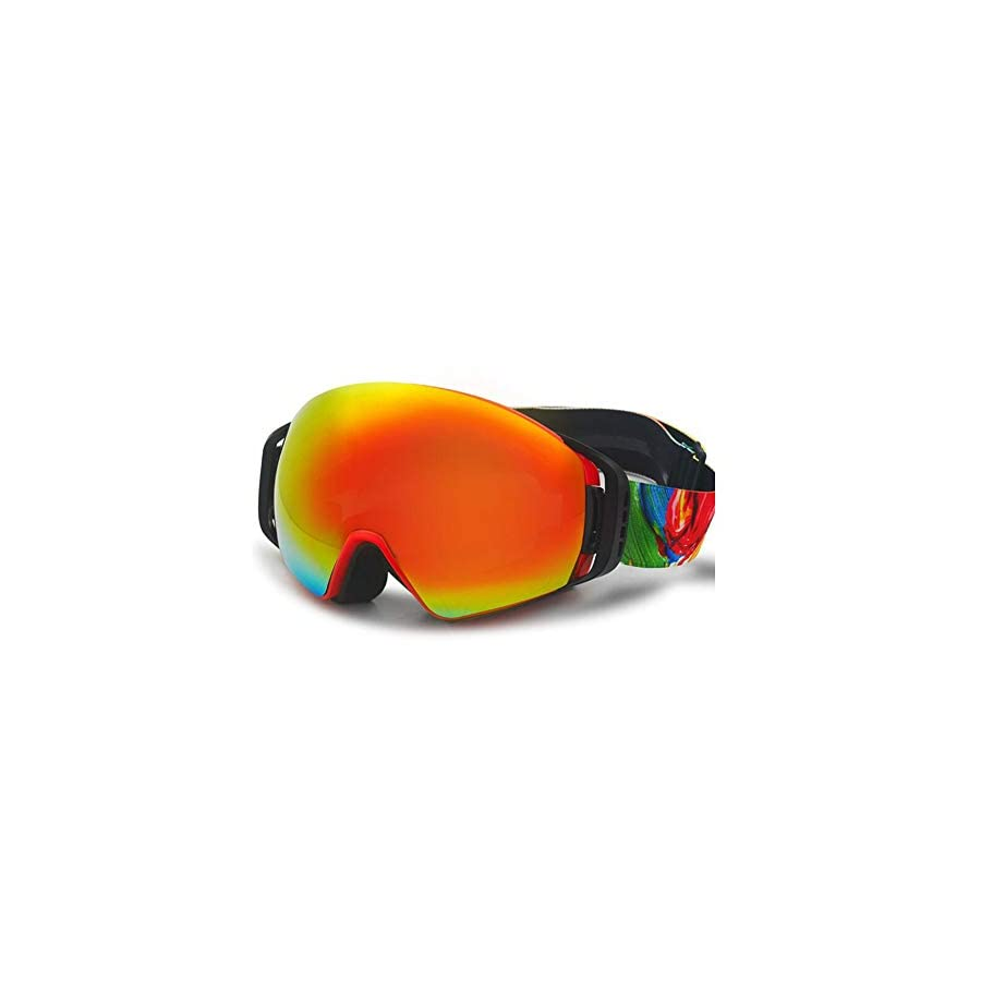 He yanjing Snowboarding Goggle , Anti Fog Snow ,UV Protection ,Ski Snowboarding Goggles Ski Goggles for Men and Women