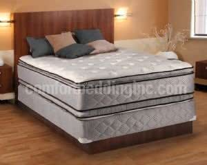 hollywood coil comfort double sided pillowtop full size mattress and box spring set. Black Bedroom Furniture Sets. Home Design Ideas