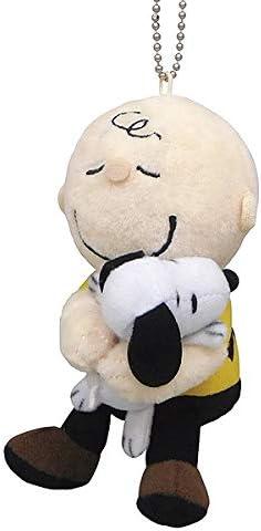Snoopy Charlie Hug Mascot