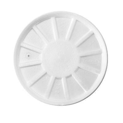 DCC32RL - Dart Vented Foam Lids, Fits 8-44oz Cups, White - Dart Vented Lid