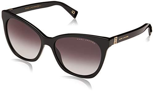 Marc Jacobs Women's Cat Eye Sunglasses, Black, One ()