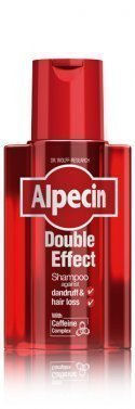New! Alpecin Double Effect Caffeine Shampoo Fights Against Dandruff & Hair Loss 200ml by ALPECIN