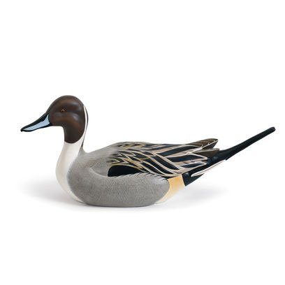 Big Sky Carvers Limited Edition Handcast Pintail Duck Decoy - Hand Painted Duck Decoy