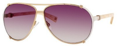 Christian Dior Chicago 2/S Sunglasses Rose Gold Cream Pink / Brown Violet - Chicago Dior Christian