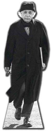 ALBERT EINSTEIN - LIFESIZE CARDBOARD CUTOUT / STANDEE / STANDUP