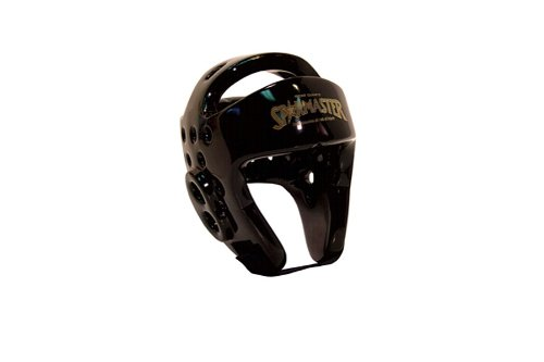 Tiger Claw Sparmaster Pro-Spar Head Guard (NO LOGO) - Black - Medium (Ear Foam Guard Headgear)