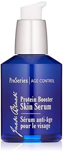 JACK BLACK - Protein Booster Skin Serum - ProSeries Men's Age Specialist Product, Peptides, Antioxidants and Organic Omega-3, Reduces Visible Signs of Aging, Improves Skin Tone, 2 oz