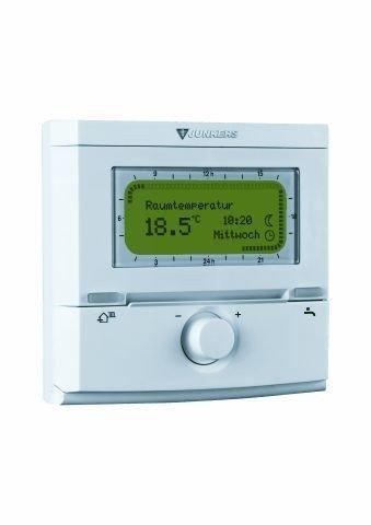 Junkers FR 120 termostato regulador de la temperatura programación semanal para calefacción/agua caliente