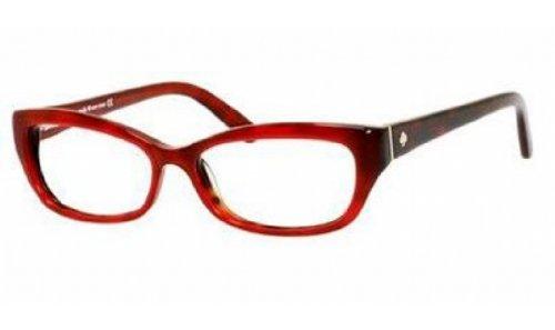 Kate Spade Rx Eyeglasses - Catalina Red Havana / Frame on...