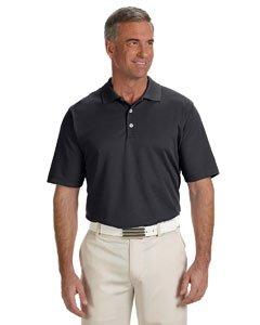 adidas Golf Mens Climalite Solid Polo (A170) -Black -XL