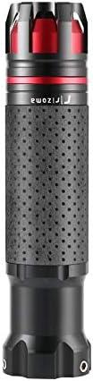 1 Paar 7//822mm Motorrad Gasgriff CNC Aluminium Drehbare Handgriffe Anti-Rutsch-Griff Motorradzubeh/ör Schwarz