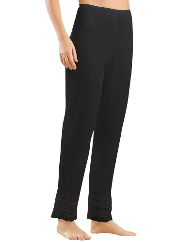 Velrose Snip-it Long Pant Liner, (3502) Black, 2X