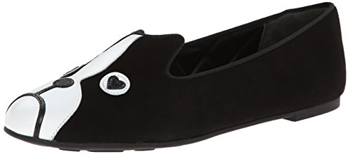 Marc by Marc Jacobs Women's Friends of Mine Shorty Loafer, Black, 10 M US
