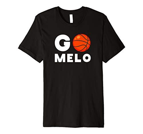 - Go Melo T-Shirt Carmelo Tee Shirt Basketball Bball Anthony 7 Premium T-Shirt