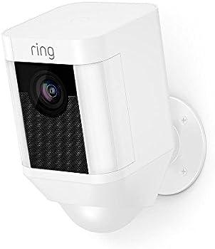 Ring Spotlight Security Camera with 2-Way Talk & Siren Alarm