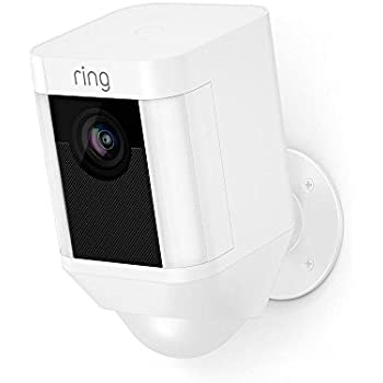 Ring Spotlight Cam Battery HD Security Camera with Built Two-Way Talk and a  Siren Alarm 38d218dbf3a23