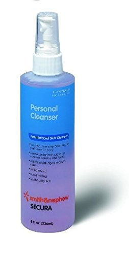 Skin Perineal Cleaners (Special 1 Pack of 5 - Secura Personal Cleanser 8oz bottles)