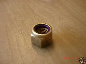 Brass Prop Nut 3/4-10 With Nylock - Brass Prop Nut