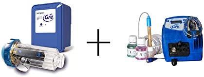 Gre SCGPH60 - Clorador Salino + Controlador de pH, para ...