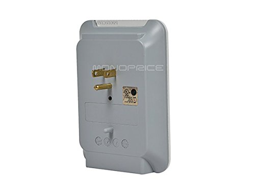 Monoprice 6 Protector Slim Wall - | Rated, 540 Protected Indicator