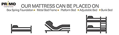 Primo International Saturn Mattress - Available In Various Sizes