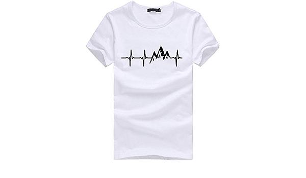 Look Hipster Mujer Moda Camisetas Manga Corta Casual ...