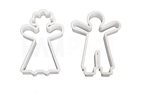 Bride Groom Cookies - 1 X NEW GingerBread Man Doll Girl Boy Groom Bride Man Woman Sugar COOKIE BISCUIT CUTTER