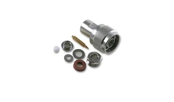 RF Coaxial, N, Straight Plug, 50ohm r161022000 by radiall: Amazon.es ...