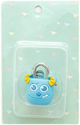 مجموعة واحدة من قفل كرتون معدني صغير للأمتعة / حقيبة قفل الحرف الحرفية - شكل حيوان الكرتون قفل صندوق - نمط