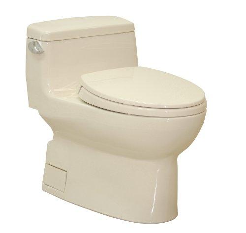 TOTO MS884114#03 Carolina Elongated One Piece Toilet, (Carolina One Piece Elongated Toilet)
