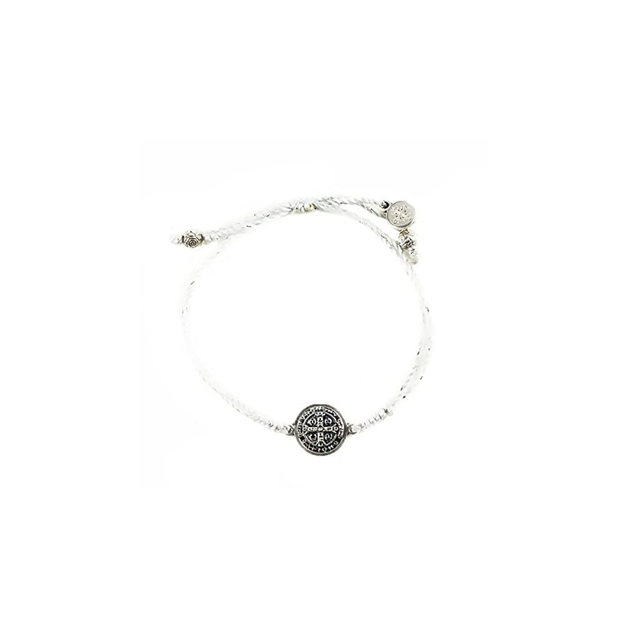 My Saint My Hero Serenity Blessing Bracelet Metallic/Silver Plated Medal