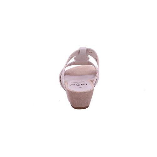 Mujeres Zapatos abiertos white/ silver blanco, (white/ silver) 8-8-27209-26-191