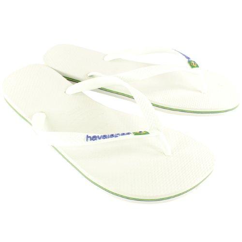 Havaianas Authentic Original Brasil Logo Unisex Flip Flops Beach Sandals