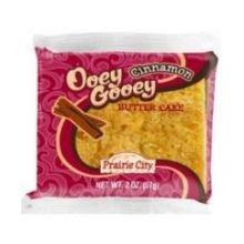 Prairie City Bakery Ooey Gooey Cinnamon Butter Cake, 2 Ounce -- 60 per case. (Best Gooey Butter Cake St Louis)