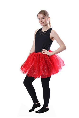 Classic Layered Princess Tutu for Halloween Costumes, Fun Runs, and Everyday Wear Over Leggings