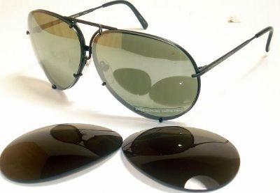 PORSCHE SUNGLASSES P 8478 D BLACK - Sunglasses Brand P