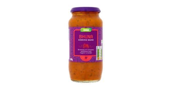 Amazoncom Asda Bhuna Curry Sauce 500g Grocery Gourmet