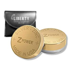 ZPower 312 Rechargeable Hearing Aid Battery – ZPower Battery Silver-Zinc XR41 (2 Batteries – Size 312) – Compatible with…