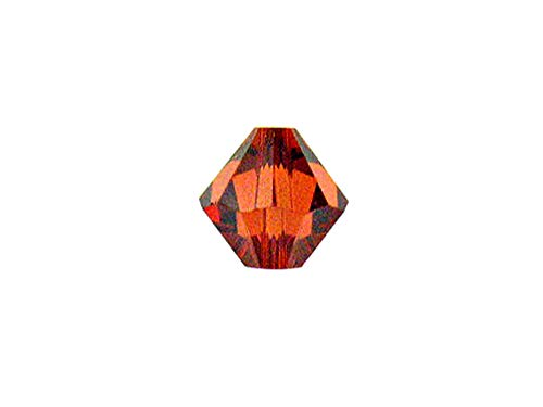 Swarovski Crystal, 5328 Bicone Beads 6mm, Indian Red, Wholesale Packs | Pack of 72